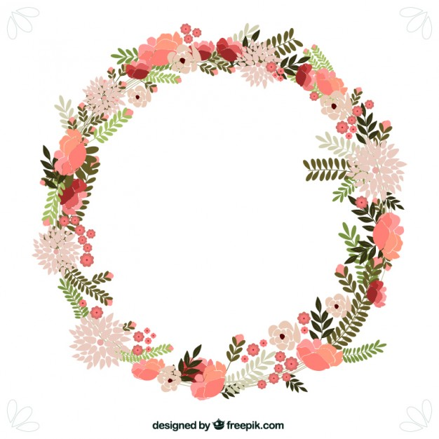 Floral Wreath PNG - 41181