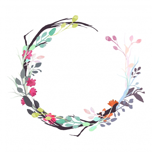 Floral Wreath PNG - 41182