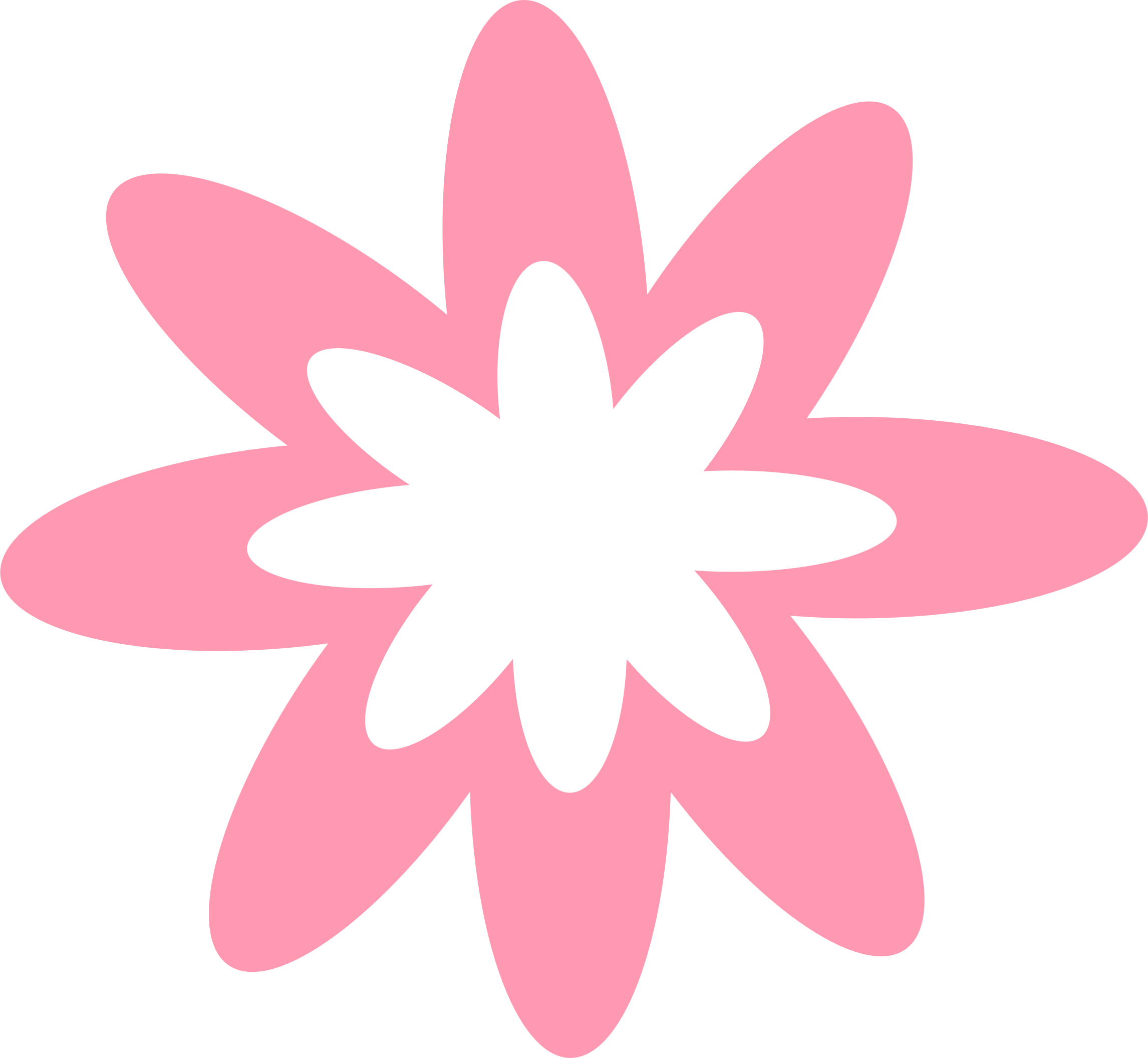 This free Icons Png design of Pink Burst Flower PlusPng.com  - Flower Burst PNG
