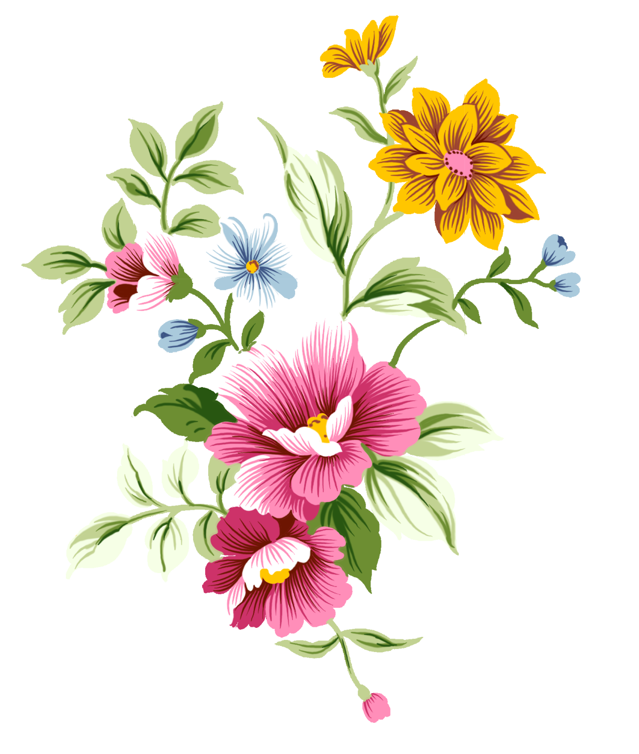 Abstract Flower Picture PNG I