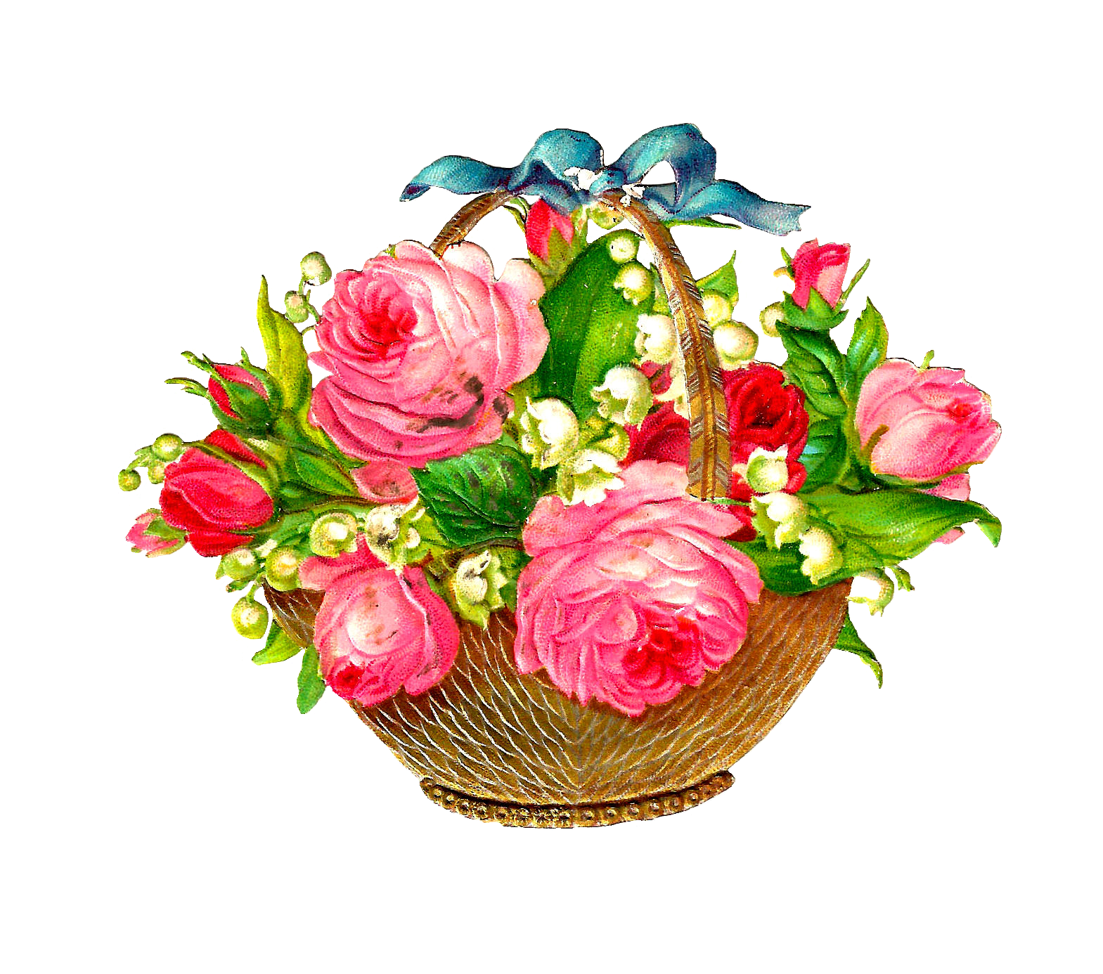 Desktop Of Flowers Png Clipar