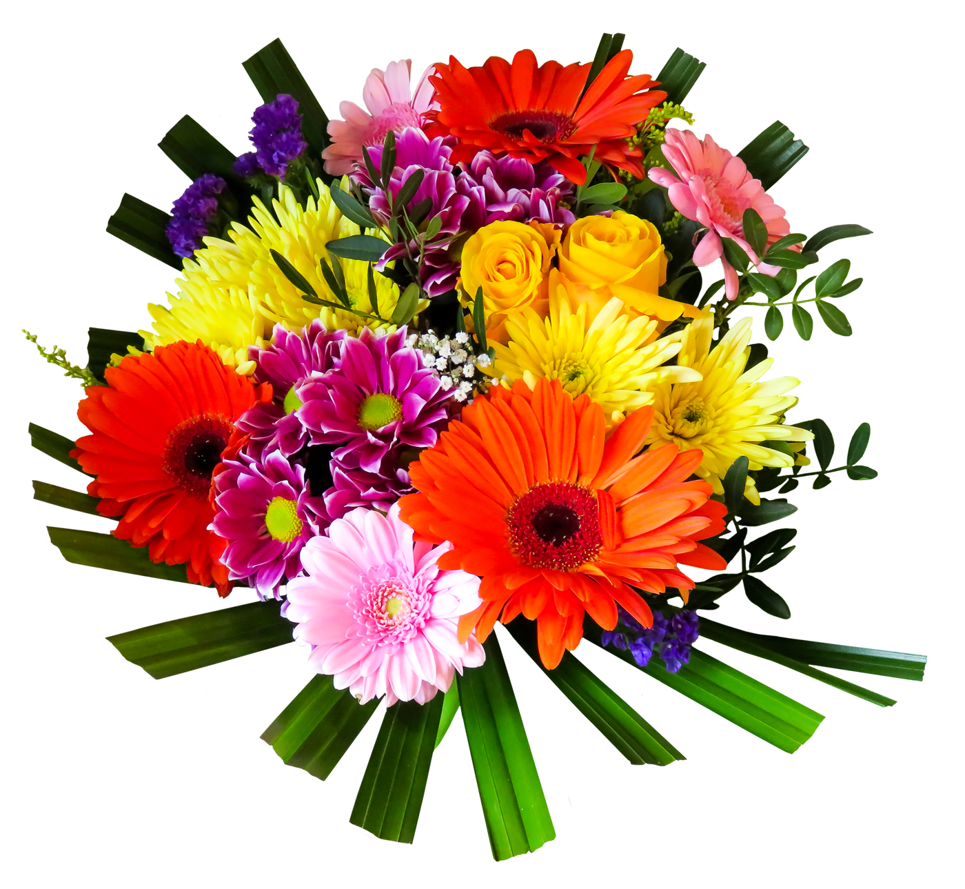 Flower Bouquet PNG Transparen