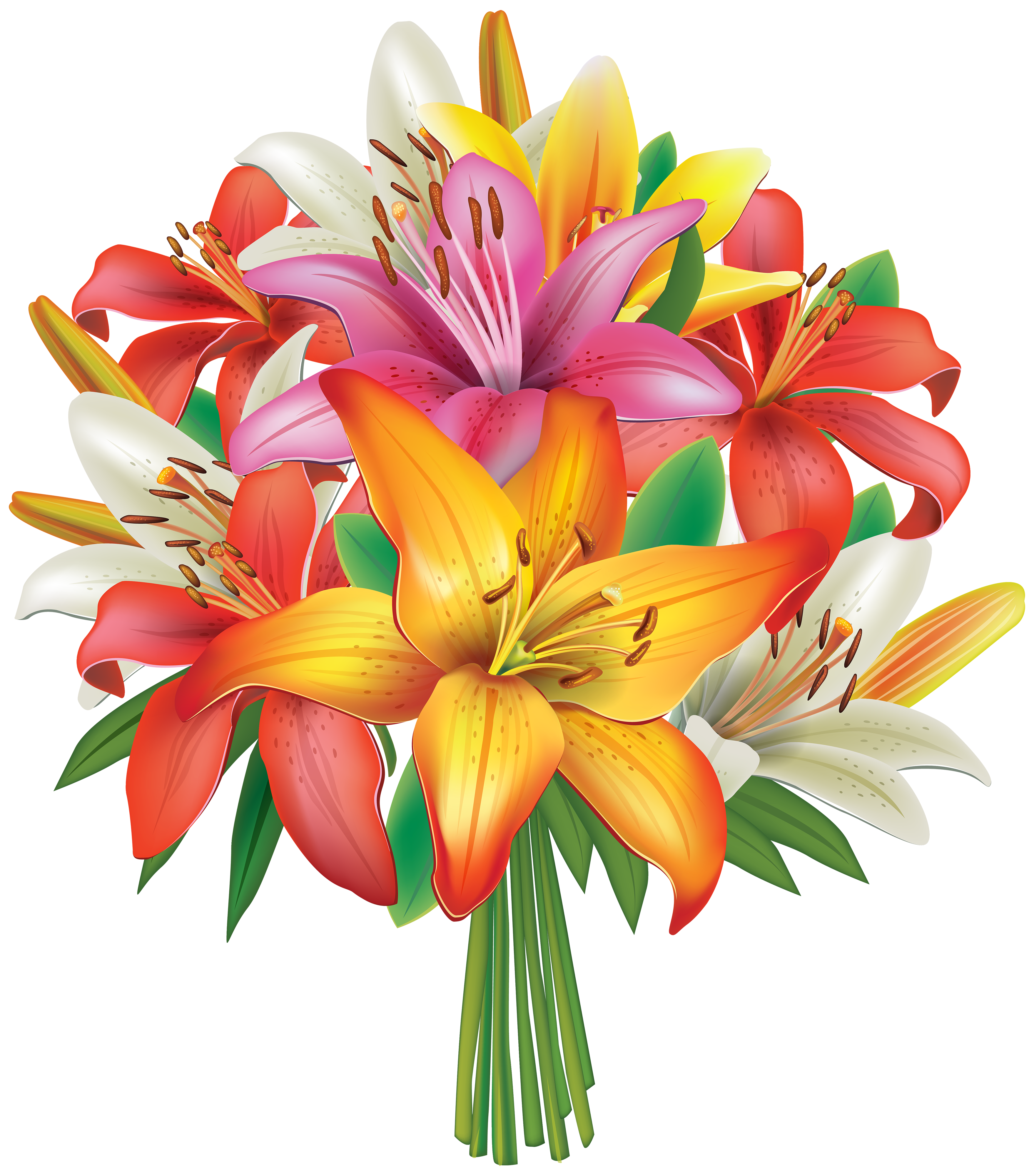 Flower bunch clipart - Flower PNG Jpg