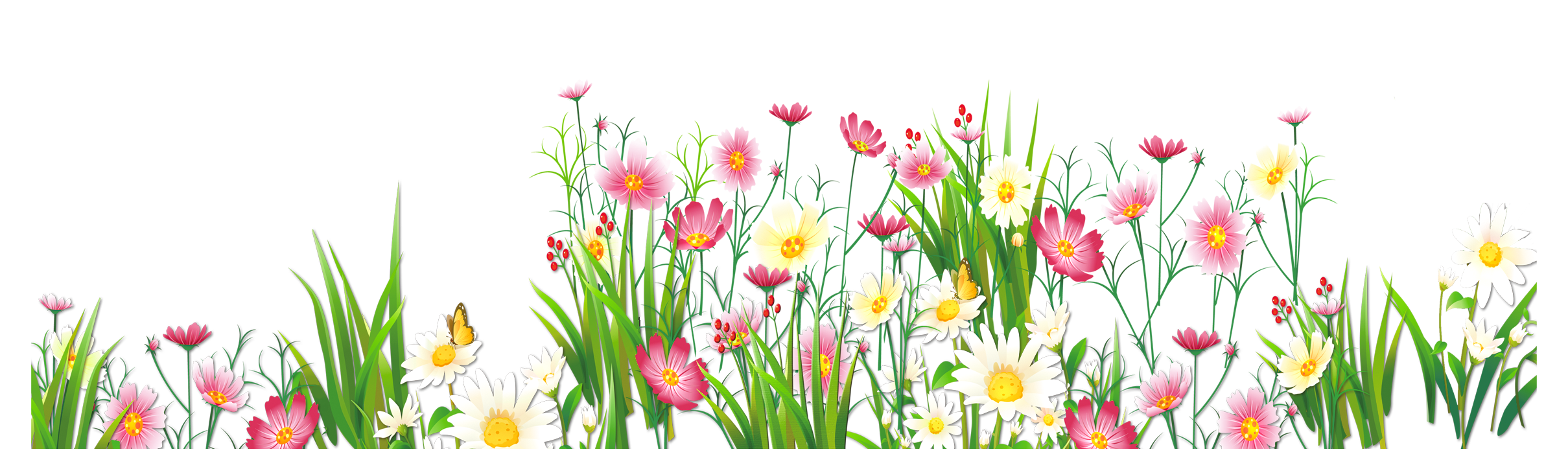 Grass Ground with Pink Flowers PNG Clipart | Spring Borders | Pinterest |  Clip art - Flower PNG Jpg