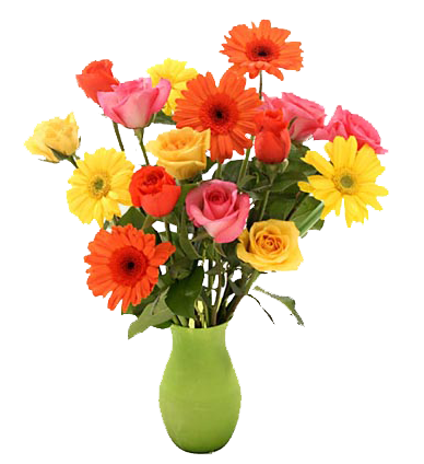 Flower for new year greetings, flowers in pot png. Resolution: 749 x 472.  Size : 472 k - Flower Pot PNG