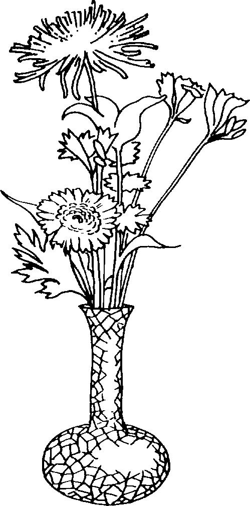 Vase06. « » - Flower Vase PNG Black And White