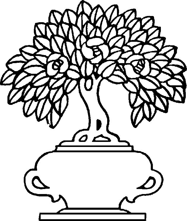 Vase14. « » - Flower Vase PNG Black And White