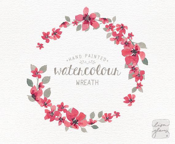 Flower Wreath PNG HD - 138072