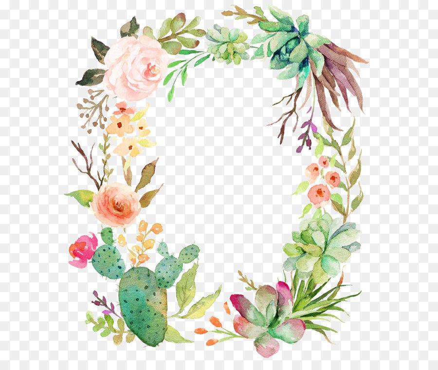 Flower Wreath PNG HD - 138070