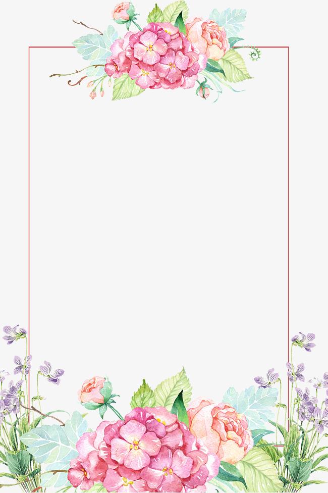 Flowers Borders PNG - 15490