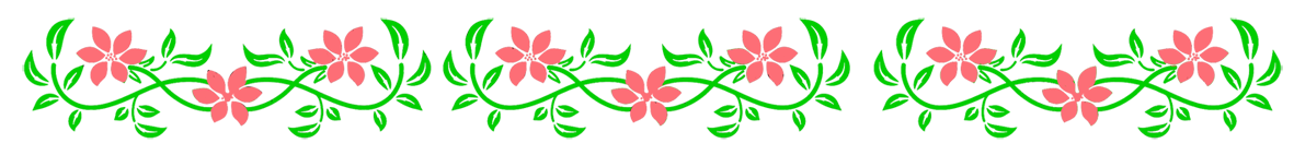 Image result for flower line png