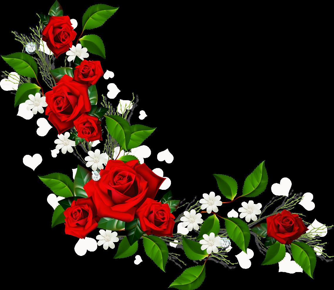 Flowers Borders PNG - 15489