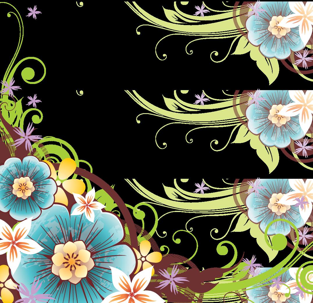Flowers Borders PNG - 15470