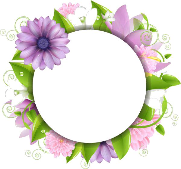 Flowers Borders PNG - 15471