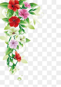 Flowers Borders PNG - 15481