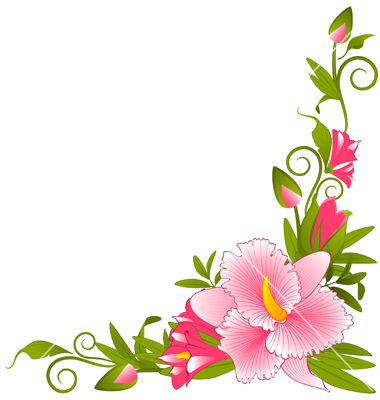 Flowers Borders PNG - 15472