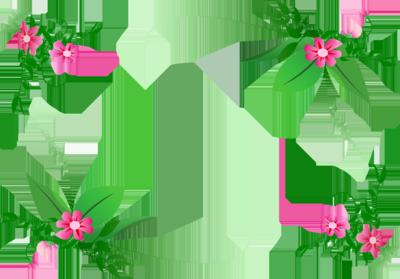 Flowers Borders PNG - 15473