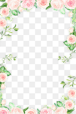 Flowers Borders PNG - 15484