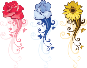 Flowers Color PNG - 17845