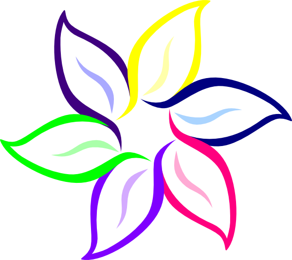 Download this image as: - Flowers Color PNG