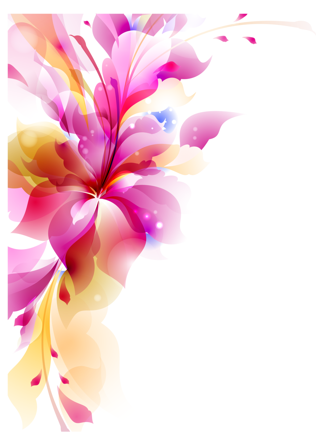 Flower Vector HQ PNG by cherryproductionsorg - Flowers Vectors PNG