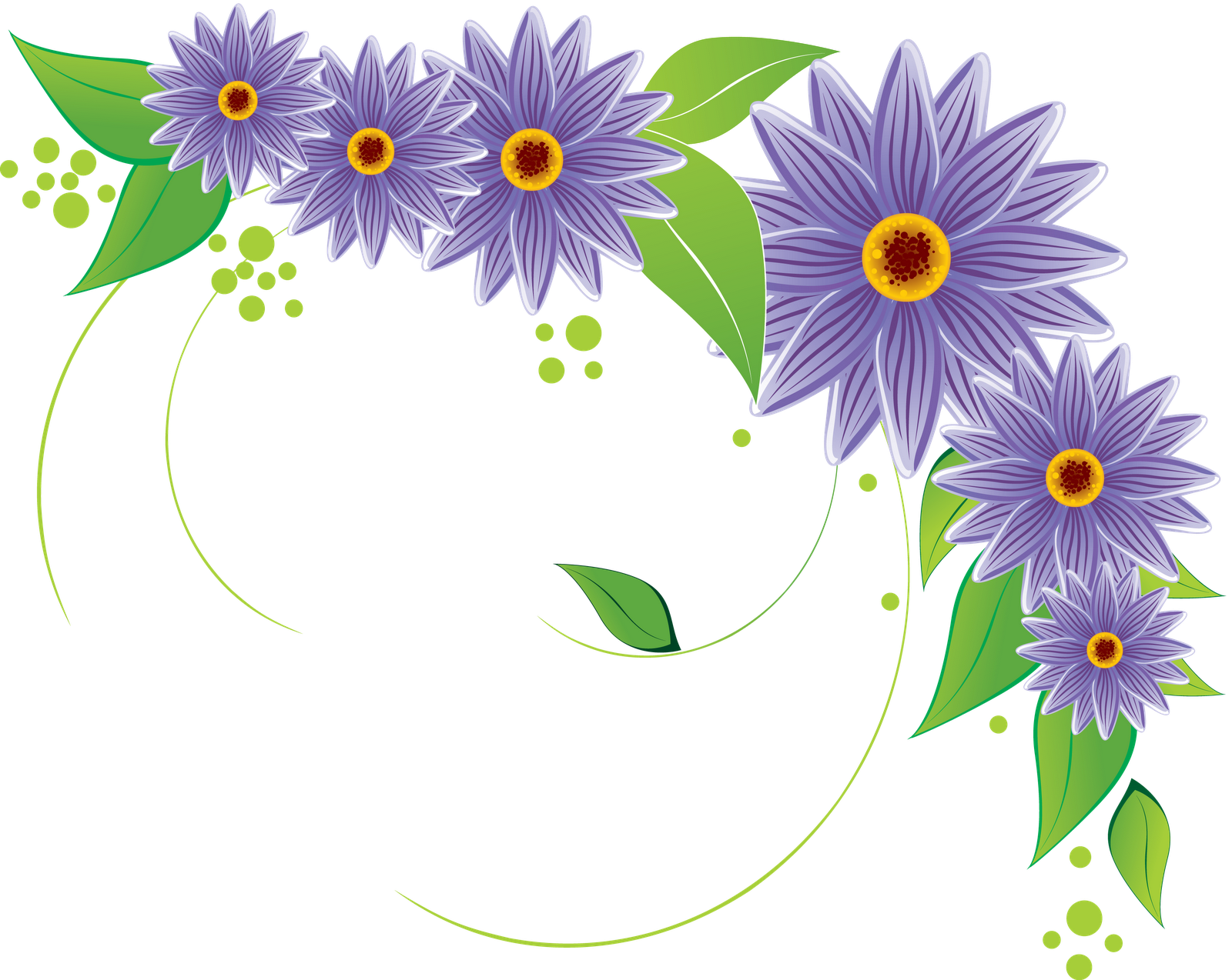 flower vectors various (12) - Flowers Vectors PNG