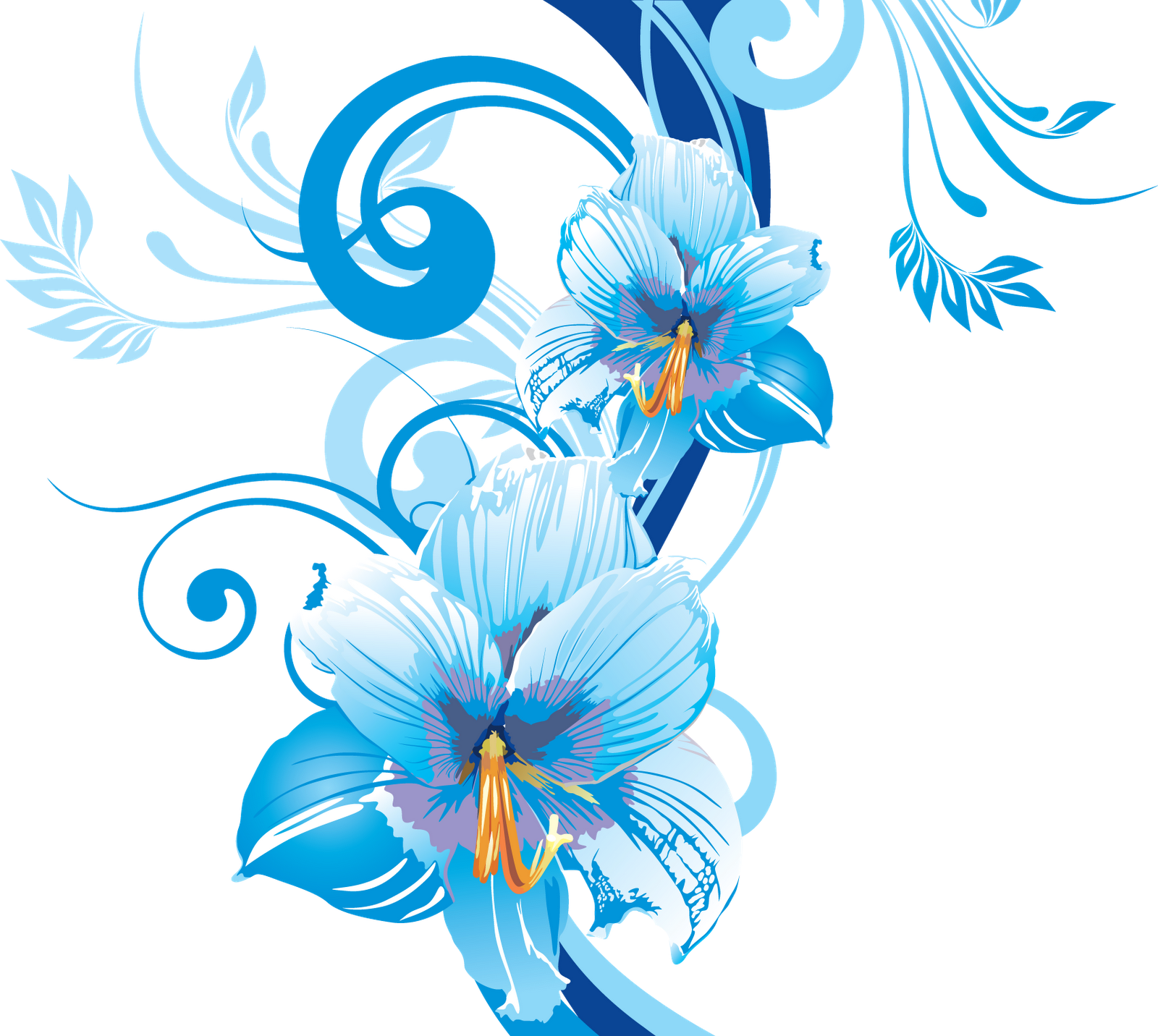 Flowers background Vector Image 1799191 StockUnlimited - Flowers Vectors PNG