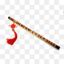 Flute Chinese knot, Flute, Music, Melodious Singing PNG and PSD - Flute HD PNG