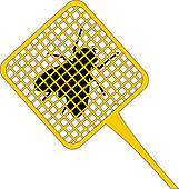 Fly died Fly died · Fly Swatter - Fly Swatter Clip Art