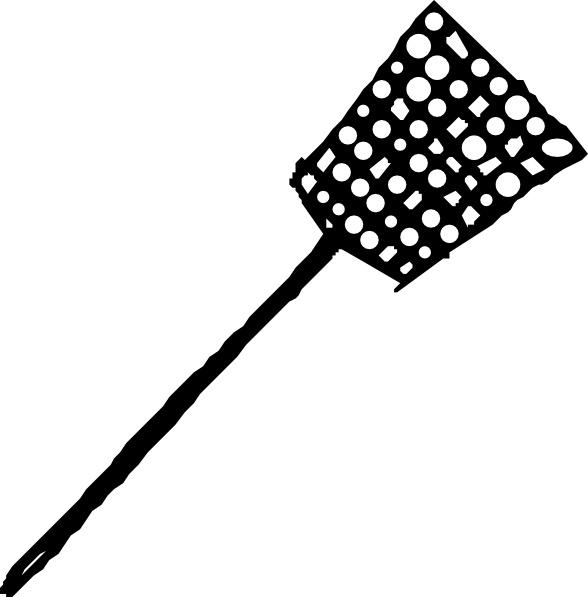 Fly Swatter clip art - Fly Swatter Clip Art