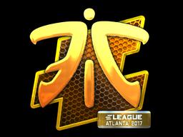 Çıkartma   Fnatic (Parlak)   Atlanta 2017 - Fnatic PNG