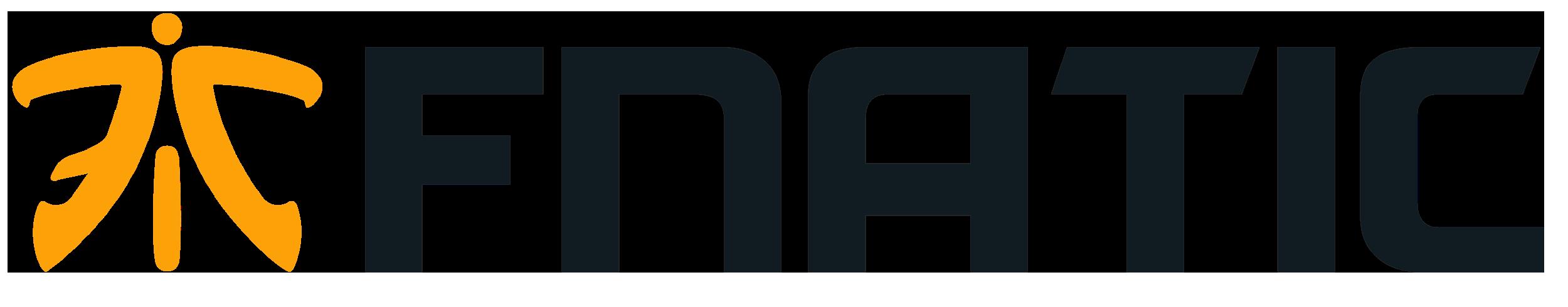 Fnatic logo, horizontal - Fnatic PNG