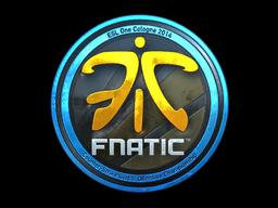 Sticker-cologne-2014-fnatic-foil-market.png - Fnatic PNG