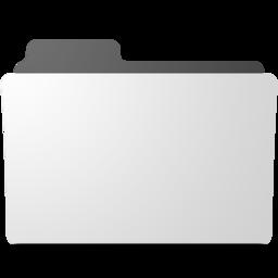 256x256px size png icon of minimal folder - Folder PNG