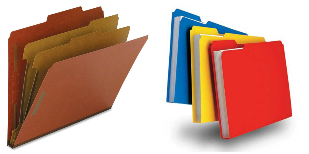 Folders collage - Folder PNG