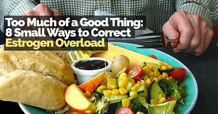 Too Much of a Good Thing: 8 Small Ways to Correct Estrogen Overload - Food Overload PNG
