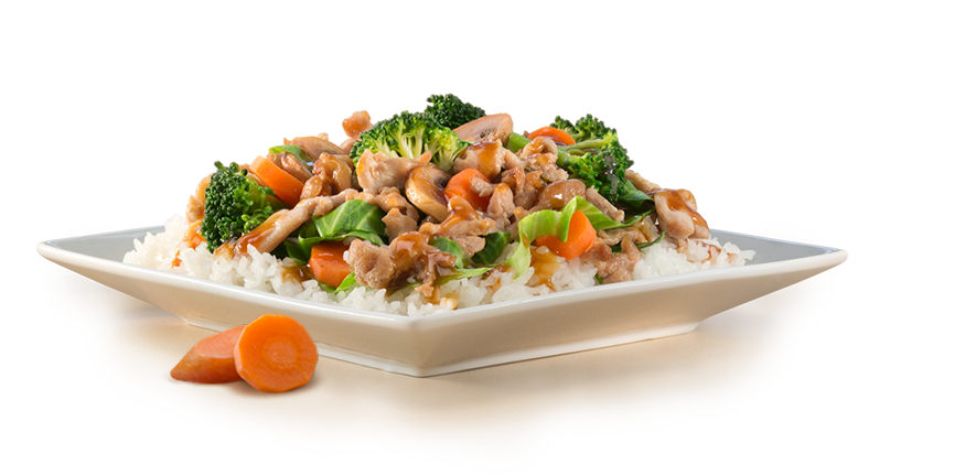 food-teriyaki-chicken-small.png - Food PNG