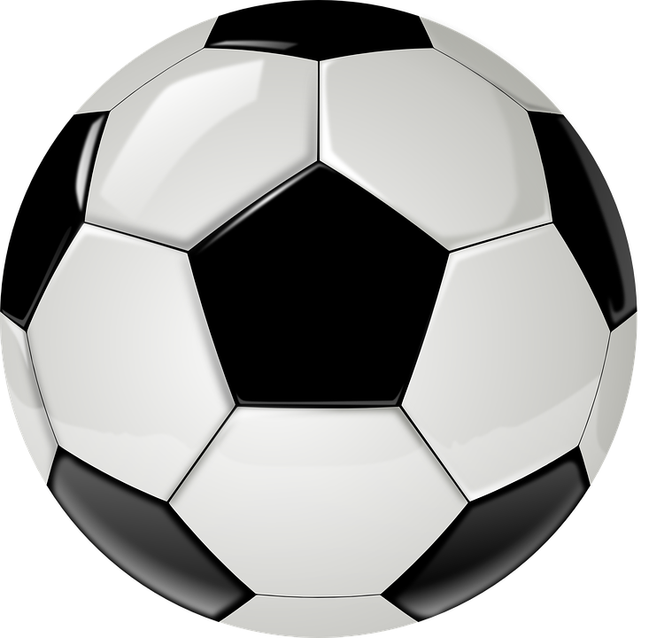Ball, Soccer, Football, Sport, Reflection, New, Black - Football HD PNG