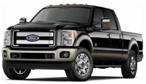 Ford Pickup Truck PNG Black And White - 155859