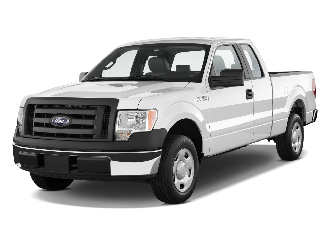 2009 Ford F-150 - Ford Pickup Truck PNG Black And White