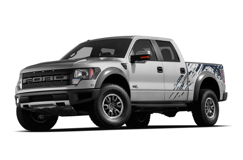 Ford Pickup Truck PNG Black And White - 155877