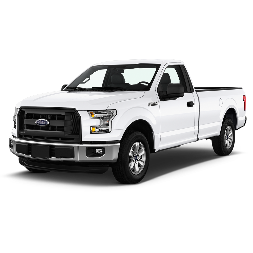 Ford Pickup Truck PNG Black And White - 155862