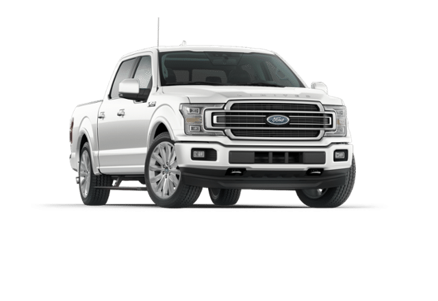 2018 Ford F-150 Limited White Platinum, 3.5L EcoBoost® V6 engine with Auto  Start/Stop Technology | Great Plains Ford Sales - Ford Pickup Truck PNG Black And White