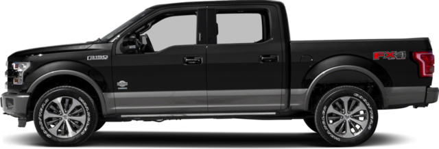 King Ranch 2017 Ford F-150 Truck King Ranch - Ford Pickup Truck PNG Black And White