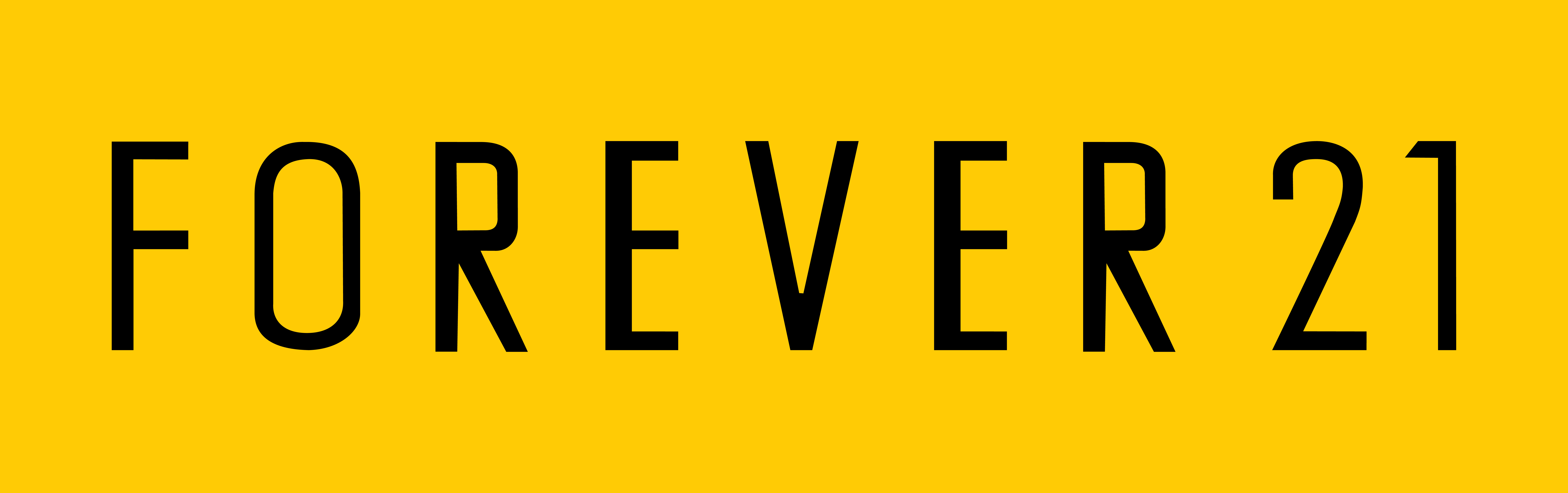Forever 21 Logo PNG-PlusPNG.com-9000 - Forever 21 Logo PNG