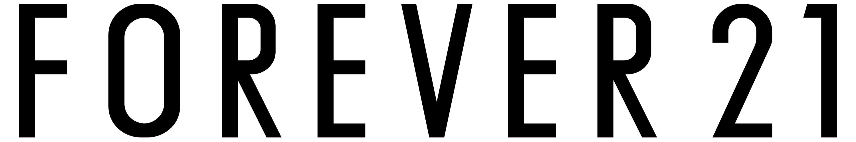 Forever 21 logo, wordmark - Forever 21 Logo PNG