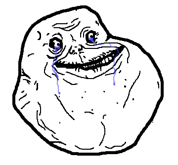 Forever Alone PNG - 11803