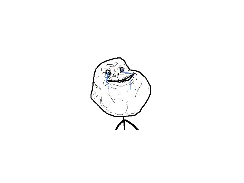 Forever Alone PNG - 11810