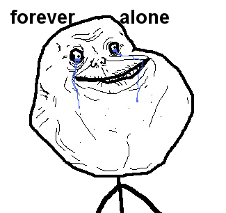 Forever Alone PNG - 11800