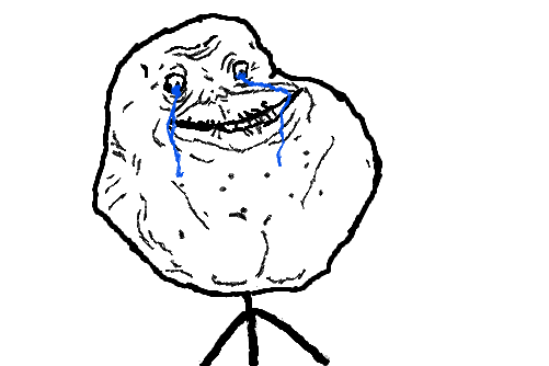 Forever Alone PNG - 11814